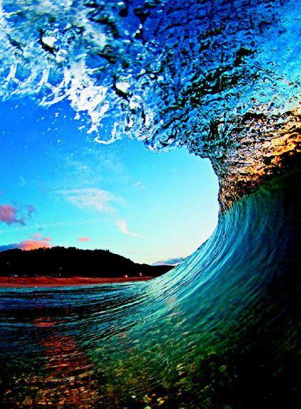 世界上最美的海浪